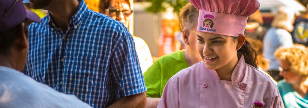 Kid Chef Eliana visits the CCFM