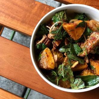 Luncheon's Roasted Sweet Potato Salad